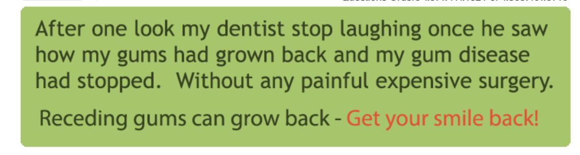 Grow Back Receding Gums Naturally At Home
